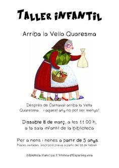 DISSABTE 8 DE MARÇ TALLER INFANTIL (Atenció places limitades: inscripció prèvia a la Biblioteca)