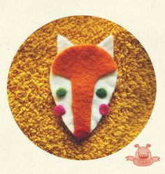 sweet Fox specially for you. by Szkaradka on Etsy, $6.00
