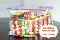 72 hour kits for emergency preparedness - A Bowl Full of Lemons