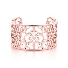 Pulsera Tiffany Enchant™ de metal RUBEDO™, mediana.
