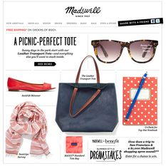 Madewell Perfect Tote Email