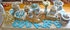 """""""Cookies & Milk"""" Birthday Party on The BakerMama - Gold Medal Blog"""