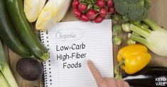 Are you eating enough fiber from your low carb and ketogenic diet? Some people are afraid that they won't get enough fiber on keto because keto diet restricts a lot of sweet fruits and starchy vegetables. Fiber Rich Foods, High Fiber Foods, High Fiber Low Carb, High Fibre, Low Carb Recipes, Diet Recipes, Healthy Recipes, Starchy Vegetables, Keto Food List