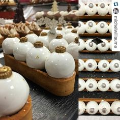 #Repost @michelwillaume with @repostapp  Eclairs Namalaka Vanilla Tonka Opalys almond sablé dough cocoa nibs crunch orange marmalade and tender salty caramel - Think Pastry  by pastry_inspiration