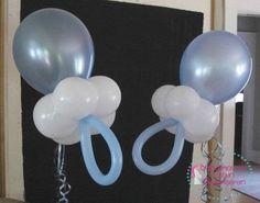 Leuk idee om te maken met ballonnen