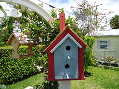 Hey, I found this really awesome Etsy listing at https://www.etsy.com/listing/193343122/handmade-bird-house-built-with-solid