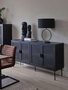 Decor Room, Living Room Decor, Bedroom Decor, Home Decor, Furniture Makeover, Diy Furniture, Furniture Design, Modern Buffets And Sideboards, Estilo Interior