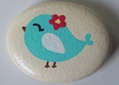Key West Chicky Stone by CheeryGiftsAndDecor on Etsy. , via Etsy.