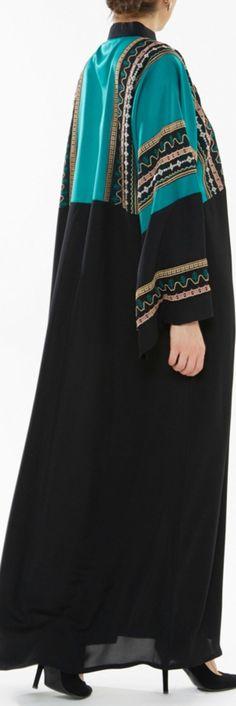 Moroccan Queen Open Abaya