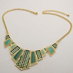 Art Deco  Necklace  Blooming Ltd