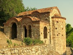 Mystras, small church.