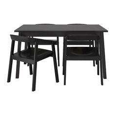 TRANETORP/ESBJÖRN Stół i 4 krzesła IKEA