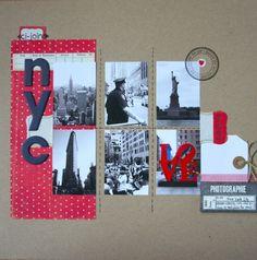 NYC - ChocOdeline, scrapbooking, C