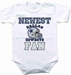 Baby bodysuit Newest fan Dallas Cowboys football NFL One Piece Bodysuit Funny Baby Child boy girlens Clothing Kids Shower boy girl baby CONDITION