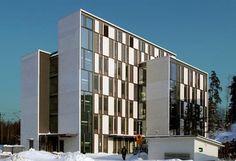 Facade Architecture, Centre, Multi Story Building, Campaign, Social Media, Steel, Detail, Medium, Health
