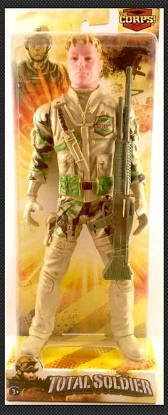 The Corps Total Soldier John Eagle Doll Soldier Action Figure Toy 10 inch New
