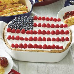Flag Cake - The Pampered Chef®