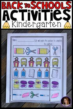 Must Have Back to School Activities for Kindergarten - Kindergarten Rocks Resources