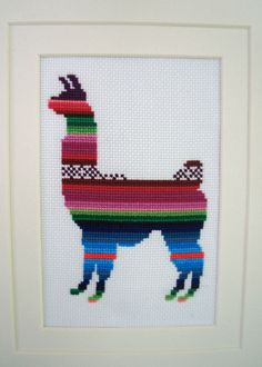 Lindsey the Llama Cross Stitch Kit Available Online To Buy From Simplistitch For A Great Deal On Lindsey the Llama Cross Stitch Kit Or Any Other Unique Handmade Craft Gifts And Creative Gift Ideas Visit Stallandcraftcollective.co.uk #4932