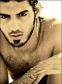 """Omar Borkan Al Gala, one of the men deported from Saudi Arabia for being """"too handsome""""."""