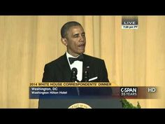 ▶ President Obama remarks at 2014 White House Correspondents' Dinner (C-SPAN) - YouTube (This one wasn't as funny as 2013, but the #OrangeIstheNewBlack joke was classic. And when I had HBO, I loved #VEEP.)