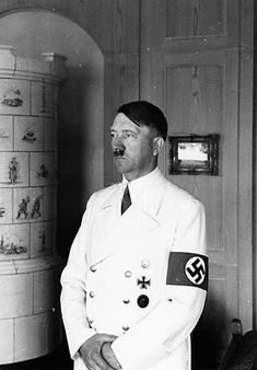 white uniform Hitler