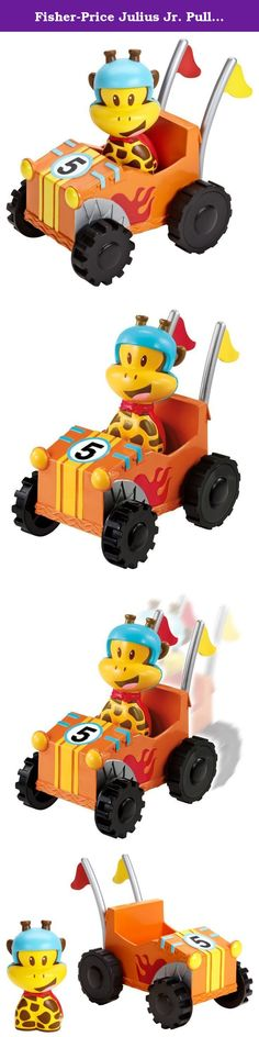Fisher-Price Julius Jr. Pullback Racer - Clancy's Get-Up-&-Go Kart. Send Clancy zooming along! Pull back to watch Clancy take off in his go-cart. Clancy figure is removable.