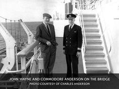 John Wayne on the SS United States