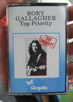 RORY GALLAGHER TOP PRIORITY Cassette Album old stock Chrysalis tape