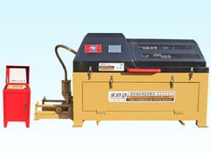 GTQ4-10Automatic coiled wire straightener and cutter