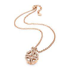 Bridesmaid gift - Folli Follie Heart4Heart Necklace