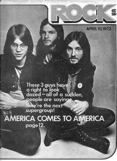 Ventura Highway, America Band, 70s Music, New Artists, Led Zeppelin, Music Stuff, Rolling Stones, Rock Bands, Nostalgia