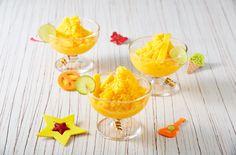 ¿Tienes ganas de un postre refrescante? Te presentamos un delicioso granizado de mango y limón, es una receta que está pensada para el verano, por su sabor dulcecito, y sobre todo, porque  te quita el calor. ¡Es un postre exquisito!