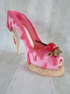shoe bakery inspired shoe by jenny lofthouse