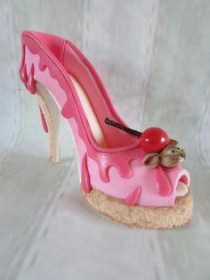shoe bakery inspired shoe by jenny lofthouse