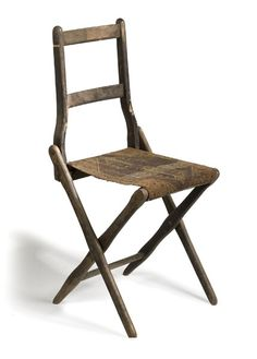 Civil War Era Folding Camp Chair,
