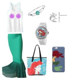 """""""Under The Sea"""" by pjcamg07 ❤ liked on Polyvore featuring Disney"""