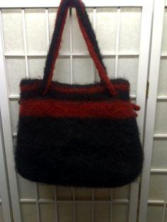 Handmade felted handbag!!!