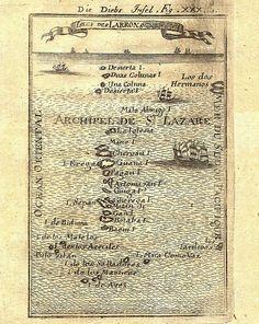Map of the Marianas, 1605 | Flickr: Intercambio de fotos