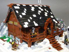 Lego: Tavern by Stormbringer., via Flickr