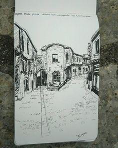 """6 mentions J'aime, 3 commentaires - Bənə Dicte (@mapetitegalerie) sur Instagram: """"Petite place dans les remparts de Carcassonne #carcassonne #citedecarcassonne #france #occitanie…"""""""