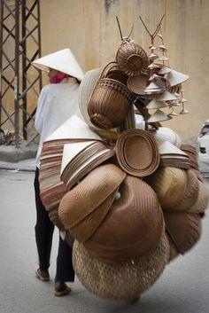 The Beautiful Art of Basket Making - pakse: VietNam - Handmade Laos, Vietnam Voyage, Vietnam Travel, Le Vietnam, We Are The World, People Around The World, Photos Voyages, World Cultures, Belle Photo