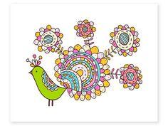 La Ilustración de Jen Skelley: Mardi, Pin, Paisley y Bocca ya están disponibles en la tienda!