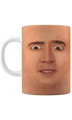 Creepy Cage Face Coffee Mug (15oz) Best Price