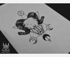 Done at Dr. SKIN TATTOO studio! https://www.instagram.com/matina_atr_tattooartist/ Blackwork_Dotwork tattoo