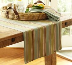 Fabric table runner