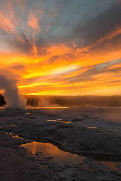 Lower Geyser Basin is a Scenic Point in WY. Plan your road trip to Lower Geyser Basin in WY with Roadtrippers. Vacation Trips, Dream Vacations, Vacation Ideas, Yellowstone National Park, National Parks, Oh The Places You'll Go, Places To Visit, Road Trip Map, Mountain States