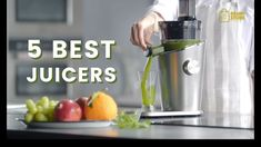 5 Best Juicer 2019 - The Best Slow Juicer Healthy Blender Recipes, Healthy Juices, Healthy Fruits, Healthy Smoothies, Smoothie Recipes, Best Juicing Recipes, Hurom Juicer, Best Masticating Juicer, Best Juicer Machine