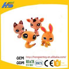 20Pcs/bag Little Pet Shop Toys Littlest cartoon Animal cute Cat Dog loose Action…