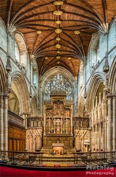 Selby Abbey, Yorkshire, UK